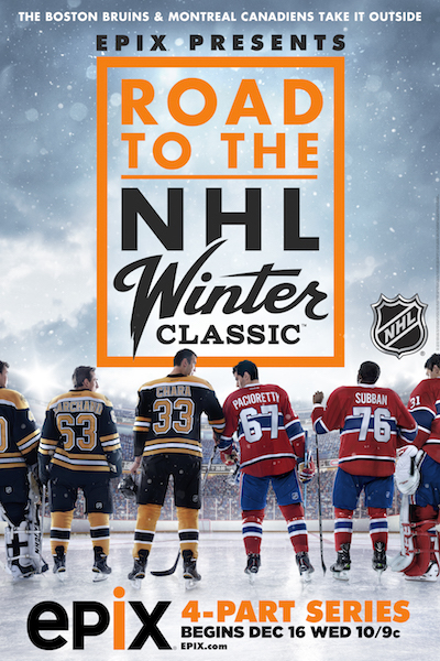 42770eeb1 ... will focus on the heated rivalry between the Boston Bruins and the  Montreal Canadiens as they prepare for the 2016 Bridgestone NHL Winter  Classic® ...