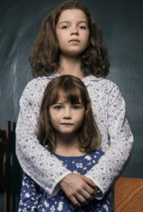 Cara Bossom as Chloe Easton (Top) and Indica Watson as Lola Easton in DEEP STATE.