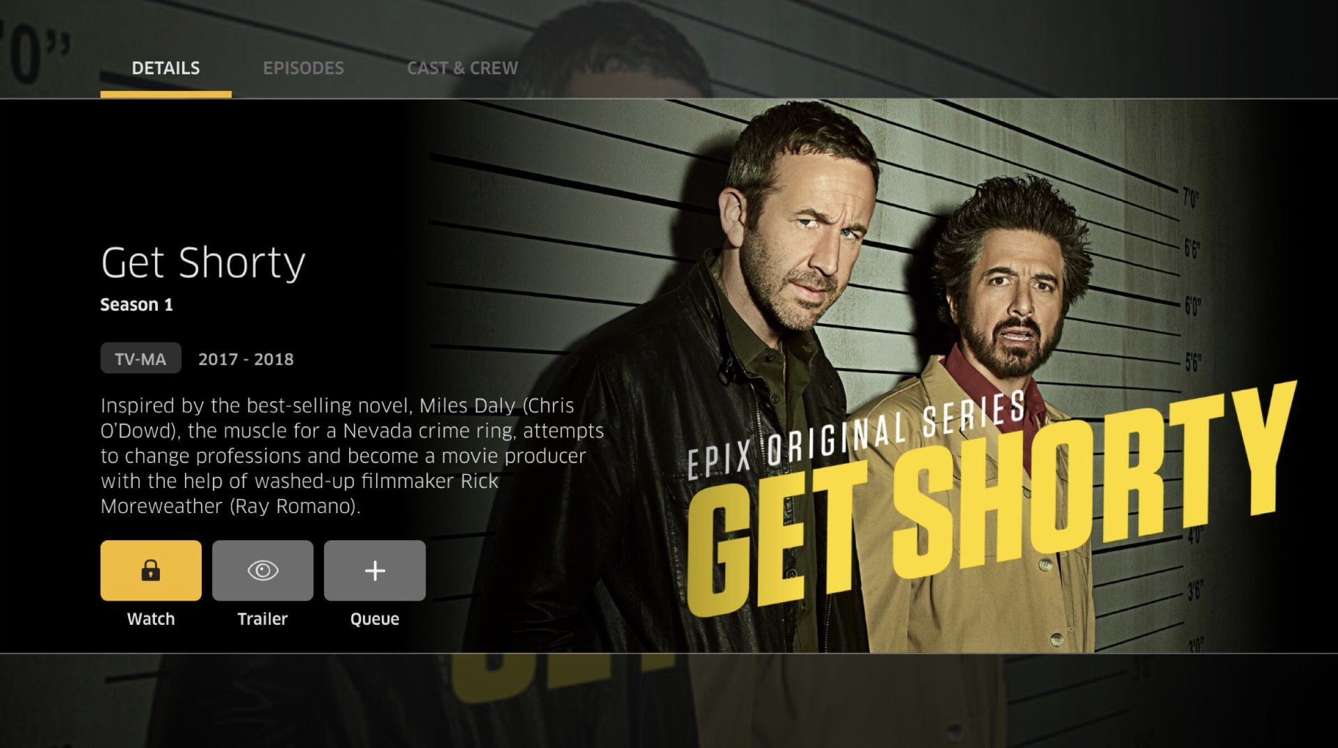 EPIX - Stream Download or Cast Thousands of Movies and TV