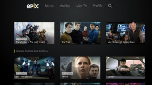 EPIX: The First TV Network To Stream 4K Ultra HD Movies In